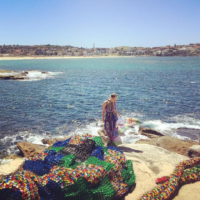 Overlooking Bondi Beach