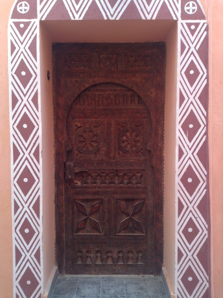 Moroccan-Door-Red
